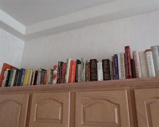 Hundreds of cook books