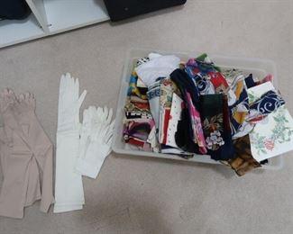 Hundreds of luxury gloves