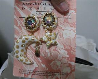 Amy Jo Gladstone vintage earrings