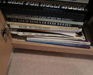 Music books