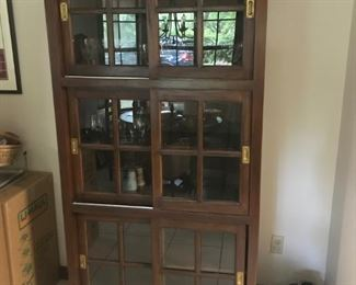 Chrissy's pick.   I love this cabinet.  Currently used in kitchen area, but would be a nice cabinet for the bedroom or office