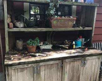 Custom Made Cabinet No.2/Potting cabinet