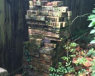 Vintage bricks and pavers