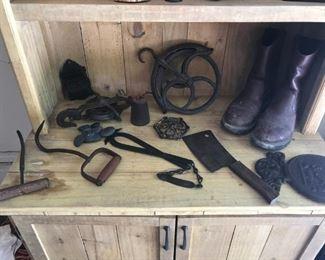 Antique farm pieces (Ohio)