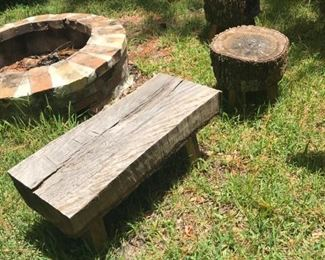 many custom made benches & stools