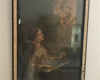 Antique religious art