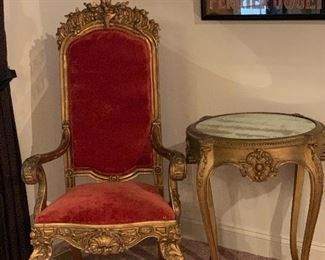 ANTIQUE FRENCH CHAIRS LOUIS XVI STYLE