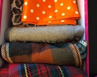 Lots of fun scarves