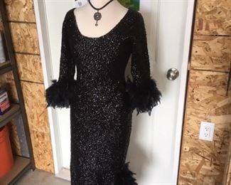 JANE RUSSEL GOWN