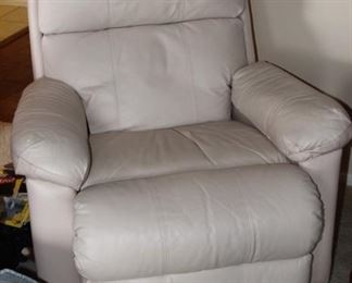 Leather LaZ Boy recliner.