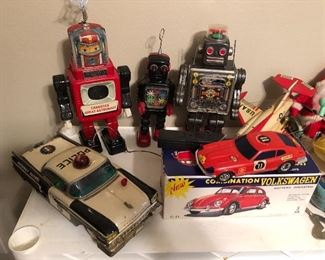 1950-60s Japanese Tin toys   Working and in Great Condition!!!   RARE TO FIND