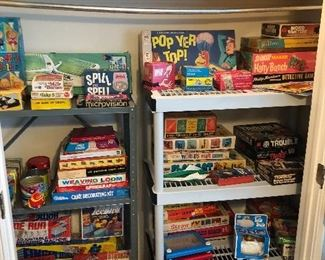 VINTAGE BOARD GAMES AND TOYS