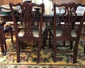 Wellington Hall Dining table and Chairs