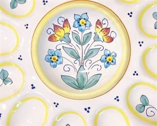 Egg plate made in Italy