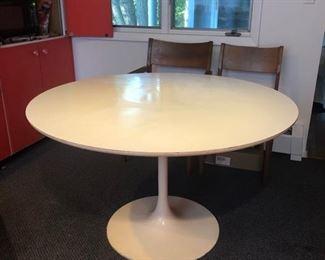 """48"""" Saarinen Tulip Table by Burke"""