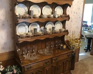 China hutch & Old Ivory dishes