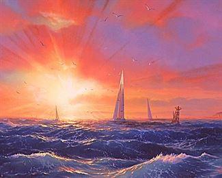 "Loren D. Adams  ""Radiant Passage"""