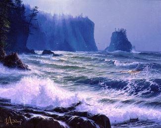 "Loren D. Adams ""Island Afternoon"""