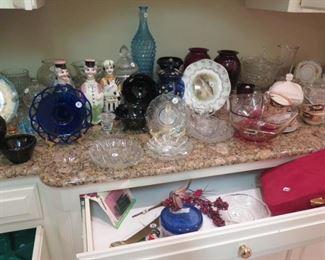 old glassware