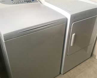 Nice matching Fisher & Paykel washer and dryer set