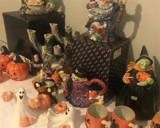 Lots of Halloween Fitz & Floyd