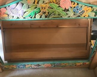 Large Tropical themed mirror
