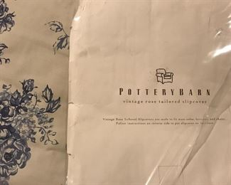 Pottery Barn Chair or love seat slip cover