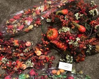 Fall garlands