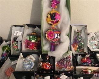 Halloween finial + Ornaments ~ ALL RADKO!