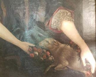 Lady Hannah Moore Painted 1686