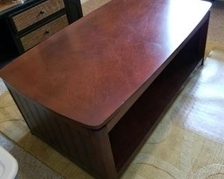 "Lift top coffee table 46""wide28""deep18.5""tall"