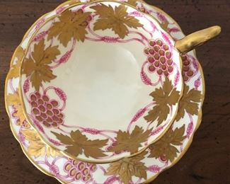 La Vigneau D'OR Royal Stafford Cup and Saucer