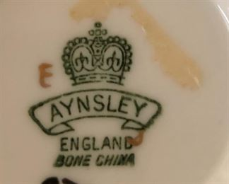 Aynsley England Bone China Cup and Saucer