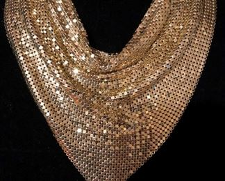 Vintage Whiting and Davis Mesh Choker