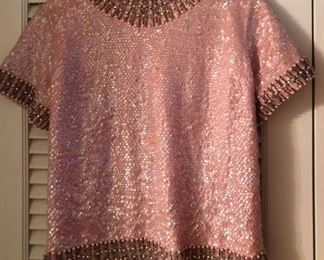 Stunning Sequined Top