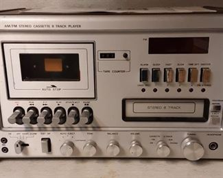 Cassette/8 Track Player