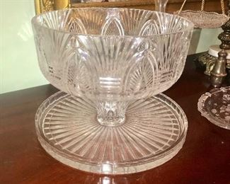 Cake Plate/Punch Bowl