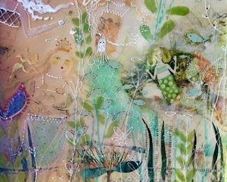 "Sara Keiser original ""Octopus's Garden"" $400"