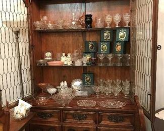 American Fostoria, Waterford Ornaments, Vintage Items,