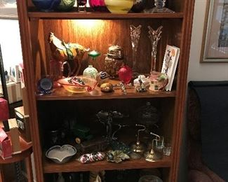 Some Vintage and some newer.  Unique Items.   Art Glass