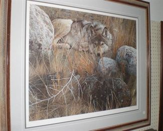 nice selection of wildlife signed and numbered artist proofs