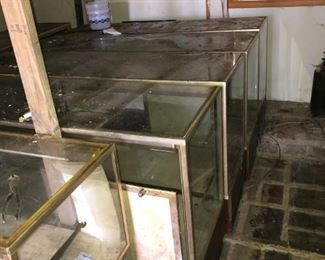 Store display cases good condition--total of 17 available