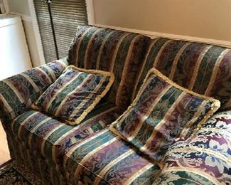 The love seat that matches sofa