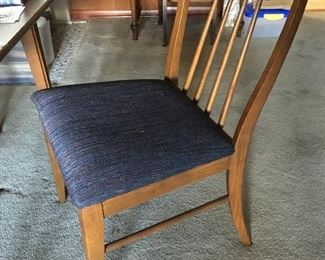 Chair for mid-century  Modern Dining Room Set (x6)