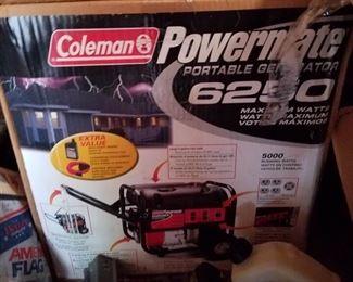 Coleman powermate 6250 Portable Generator