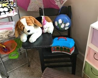 Kids room with toys
