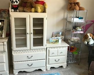 Kids room with toys And bedroom set