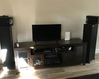 Theater Bose speakers