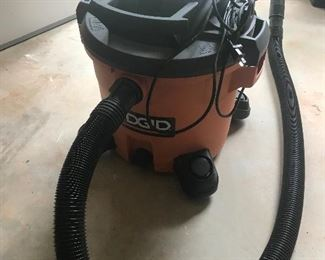 Rigid shopvac