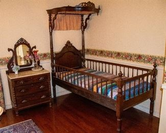 Victorian Child's Bed